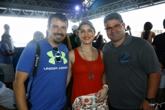 Flávio Montenegro, Viviane Baima e Mário Queirós