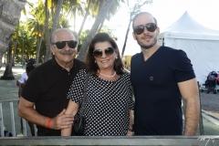 Inácio, Luzia e André Parente