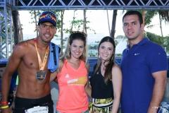 Rodrigo e Carol Cantal, com Naiana e Victor Paraíba