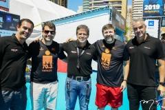 Alexandre Freire, Rogério Pinheiro, Carlos Galvão, Élcio Batista e Kall Aragão
