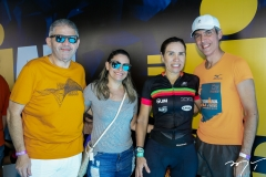 André Rocha, Rosiane Pimenta, Anne e Leonardo Alcantara