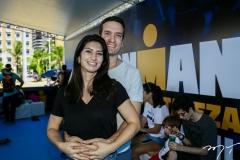 Bárbara Roriz e Felipe Macedo