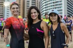 Rebecca Albuquerque, Ana Virginia Martins e Camila Militão