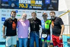 Rogério Pinheiro, Roberto Cláudio, Carlos Galvão, Erick Vasconcelos e Élcio Batista