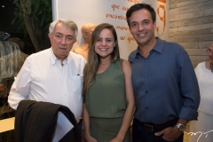 Roberto Macêdo, Ana Virginia Furlan E Fernando Novais