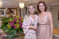 Erica Queiroz e Jussara Regás