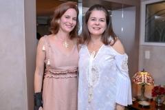 Jussara Regás e Márcia Oliveira