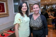 Márcia Braga e Maria Helena