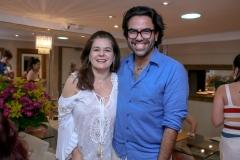 Márcia Oliveira e João Marques