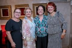 Nindete Bitur, Regina Cabral, Regina Regás e Fátima Duarte