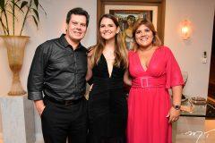 Cláudio Dias Branco, Gabriela da Escóssia e Gisela Dias Branco
