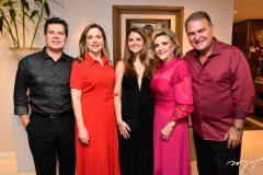 Cláudio e Suyane Dias Branco, Gabriela, Graça e Jório da Escóssia
