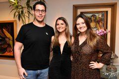 Gabriel Dias Branco, Gabriela da Escóssia e Letícia Teixeira