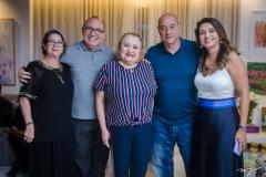 Consuelda Andrade, Padre Eugênio, Fátima Andrade, Fernando e Márcia Travessoni