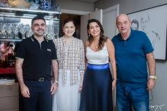 Isaac e Sheyla Furtado, Márcia e Fernando Travessoni