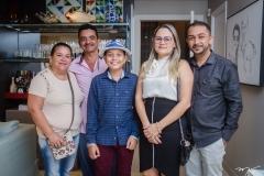 Luiza Gil, Erandir de Lima, Kayro Oliveira, Jane Pessoa e Isaias Alexandre