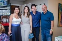 Márcia Travessoni, Camila e Paulo Benevides e Fernando Travessoni