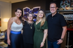 Márcia Travessoni, Consuelda Andrade, Ana Santos e Daniel Joca