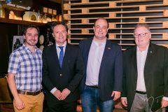 César Dahaer, Enio Pazini, Maurício Garcia e Julio Timerman