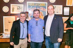 Eduardo Coelho, Ednilson Tavares e Maurício Garcia