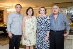 Beto e Ana Studart, Auxiliadora e João Carlos Paes Mendonça