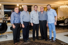 Cláudio Targino, Waldyr Diogo, Beto Studart, João Carlos Paes Mendonça e Élcio Batista