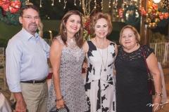 Arnóbio Thomaz, Adriana Thomaz, Solange Almeida e Fátima Peixoto