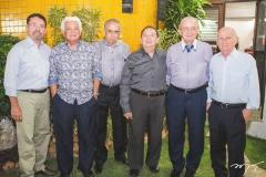 Arnóbio Thomaz, Almino Menezes, Luís Nogueira, Germano Almeida, Mauritir Cavalcante e Domingos Aragão