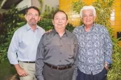 Arnóbio Thomaz, Germano Almeida e Almino Menezes