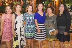 Conceição Brito, Solange Almeida, Ângela Brito, Gorete Morais, Maria Simões e Carmen Braga