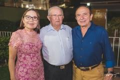 Conceição Brito, Teobaldo Brito e Marcos Montenegro