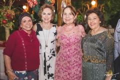 Douvina Castro, Solange Almeida, Conceição Brito e Maria Simões