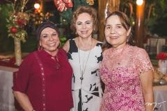 Douvina Castro, Solange Almeida e Conceição Brito