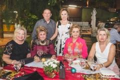 Fani Soárez, Fernanda Diogo, Germano Almeida, Solange Almeida, Terezinha Rolim e Ruth Feitosa