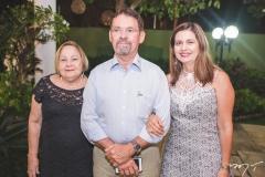 Fátima Peixoto, Arnóbio Thomaz e Adriana Thomaz