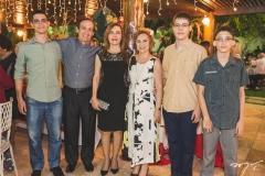 Helder Vasconcelos, Antônio Helder Vasconcelos, Marly Vasconcelos, Solange Almeida, Luís Valério e Gerardo Jorge
