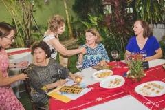 Jantar de Natal de Solange e Germano Almeida