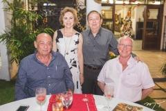 José Jereissati, Solange Almeida, Germano Almeida e Luís Cruz