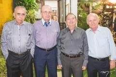 Luís Nogueira, Germano Almeida, Mauritir Cavalcante e Domingos Aragão
