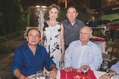 Marcos Montenegro, Solange Almeida, Germano Almeida e Teobaldo Brito