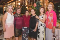 Ruth Feitosa, Fernanda Diogo, Duvina Castro, Lubelita França, Solange Almeida e Terezinha Rolim