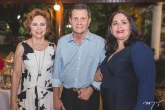 Solange Almeida, Ricardo e Verônica Sátiro