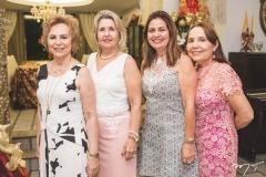 Solange Almeida, Ruth Feitosa, Adriana Thomaz e Conceição Brito