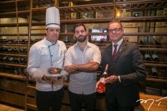 Claudio Sousa, Felipe Rocha e Marco Ferrari