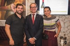 Felipe Rocha, Marco Ferrari e Márcia Travessoni