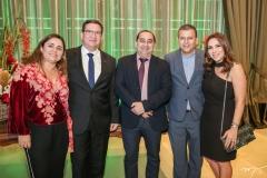 Adriana e Lúcio Gomes, Ubiratan Teixeira, Valdir e Samara Fernandes