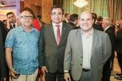 Amaro Pena, Jardson Cruz e Roberto Cláudio