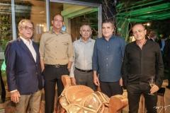 Arialdo Pinho, Everardo Oliveira, Odilon Peixoto, João Jaime e Giovanni Boffi