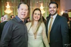Carlos e Liana Fujita e Ilo Marques