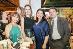 Circe Jane, Ediane Câmara, Celina e Fernando Castro Alves